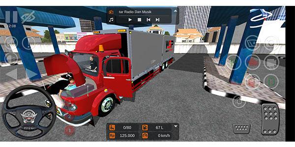 mod bussid truck mercedes benz