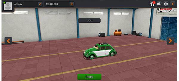 mod bussid mobil VW Kodok