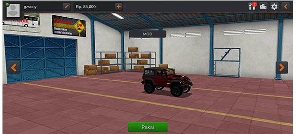 mod bussid mobil jeep 4x4