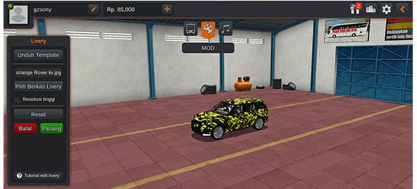 mod bussid mobil range rover