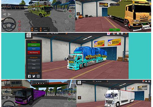 mod truck bussid lainnya terbaru