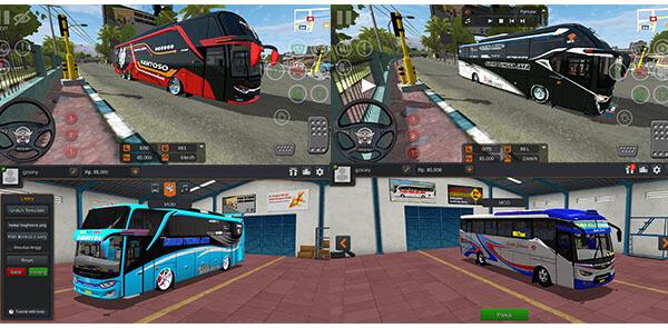 unduh kumpulan Mod Bussid Bus lainnya