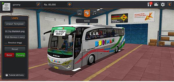 Bus JB2 HD CVT Aldovadeva.