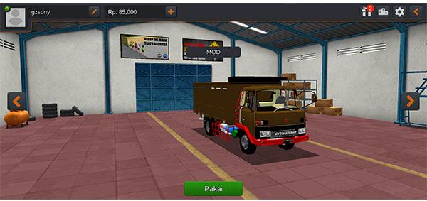Mod Bussid Truck Jadul.