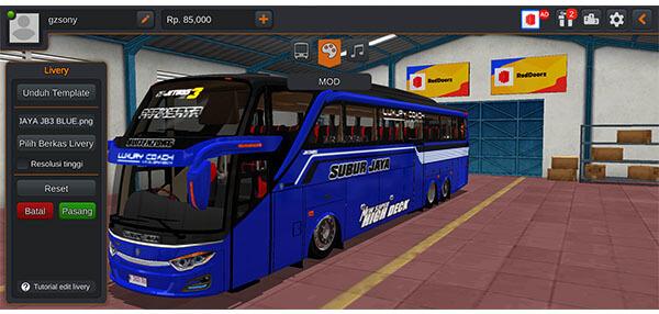 jetbus 3 shd pariwisata