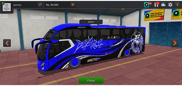 mod bus arctic shd