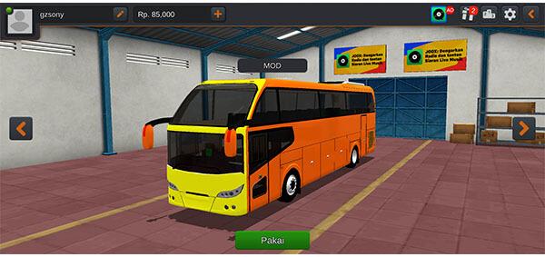 mod bus cityliner.