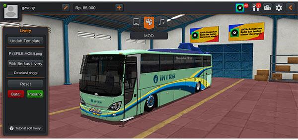 mod bus euroliner