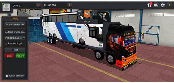 mod bussid truck angkut bus uhd