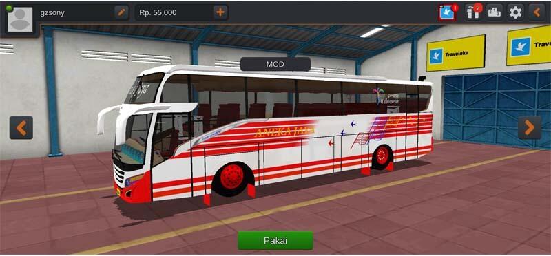 Bus All New Infinite