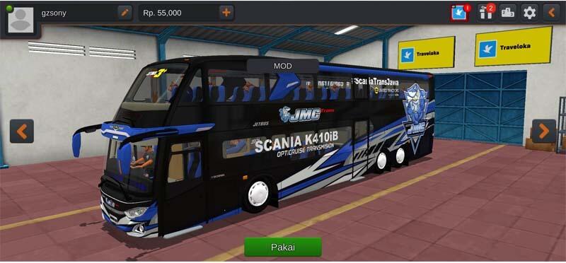 Bus Super Double Decker.