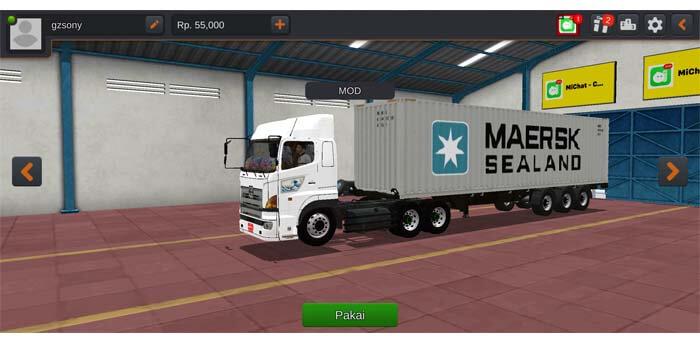truck hino 700 trailer