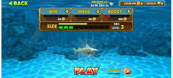 game mod hungry shark