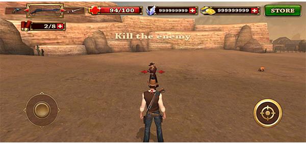 game offline mod west gunfighter