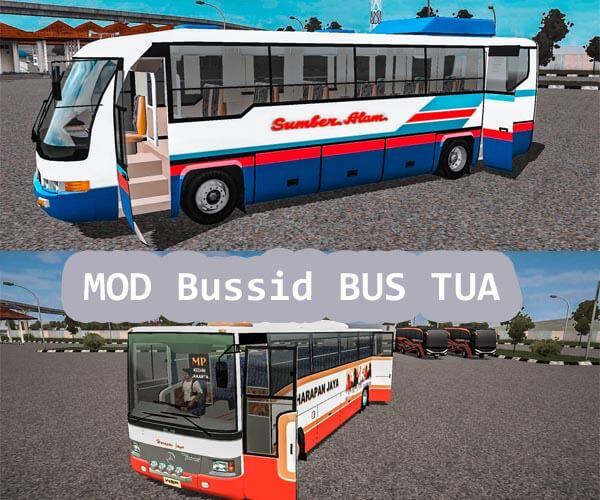MOD Bussid Bus Tua