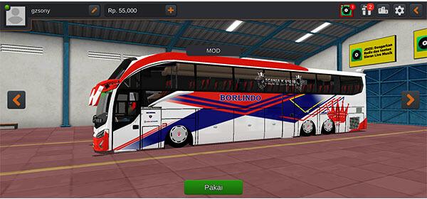 mod bussid bus evolander SHD