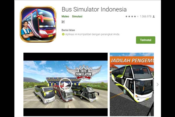 cara update game bus simulator indonesia bussid