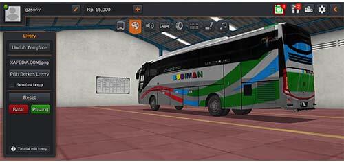 download livery bussid arjuna xhd bus budiman