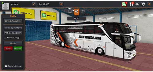 livery bus atj erlangga