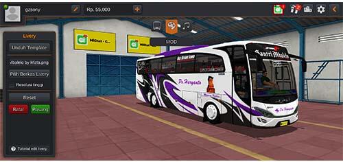 livery bus haryanto