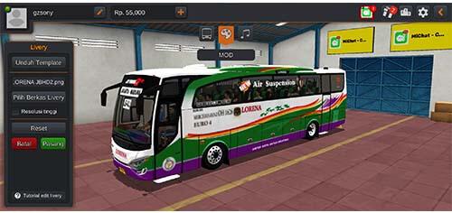 livery bus lorena