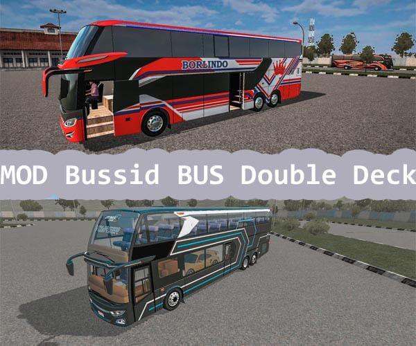 MOD Bussid Bus Double Decker