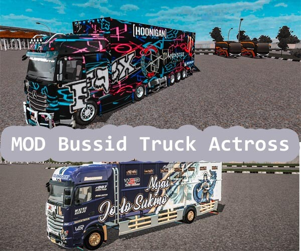 MOD Bussid Truck Actross
