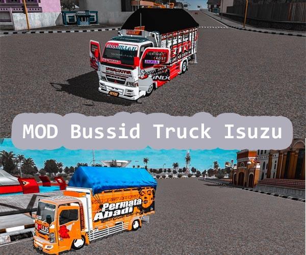 MOD Bussid Truck Isuzu