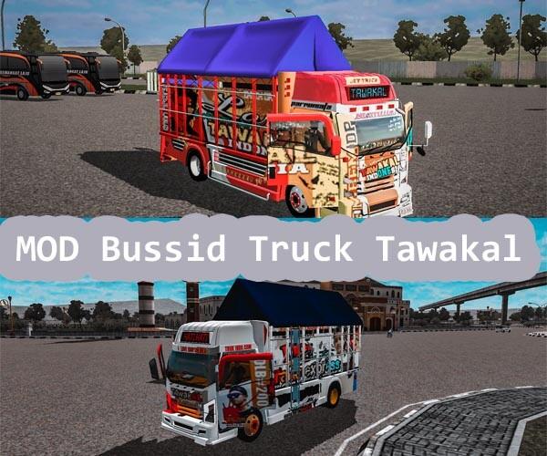 MOD Bussid Truck Tawakal