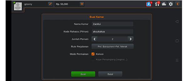 cara main bareng di game Bus Simulator Indonesia