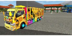 download mod bussid truck canter tronton