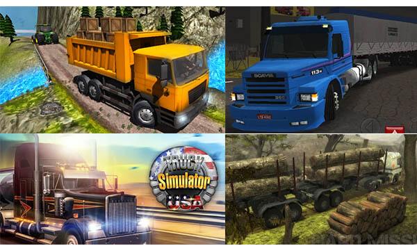 game truck simulator terbaik di android