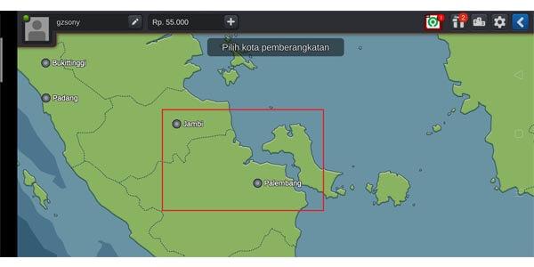 maps kota baru- Update Bussid versi v3 3