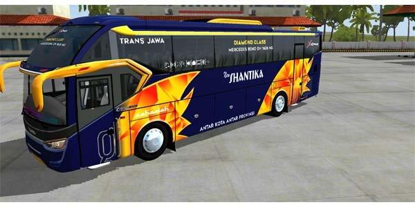 mod bussid bus shd terbaru 2020 keren shantika