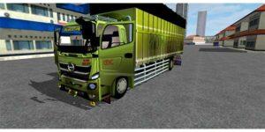 mod bussid truck hino 500 sumatra