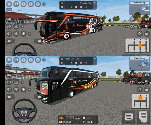Download MOD Bussid Bus Full Animasi