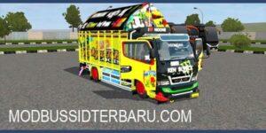 Download MOD Bussid Truck Canter Ken Block