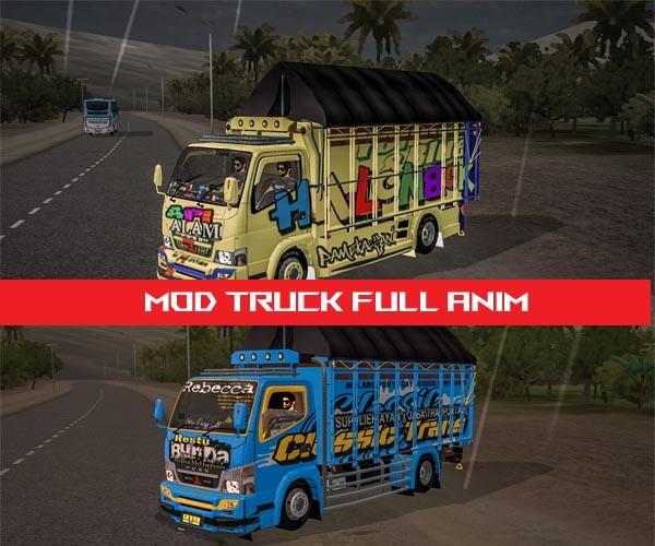Download MOD Bussid Truck Full Anim