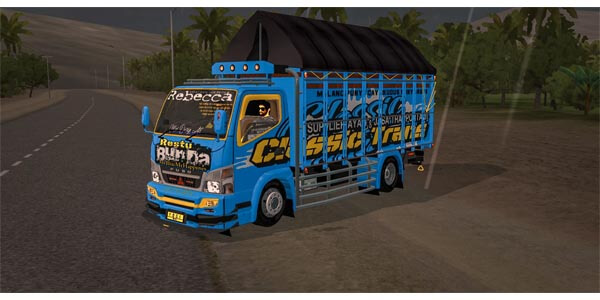 Download MOD Truck Full Anim Bussid Terbaru