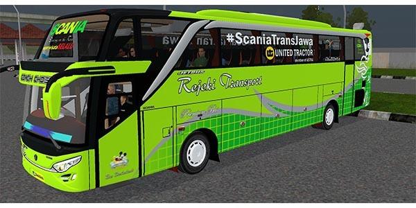 MOD Bussid Bus Full Anim 2020 keren.
