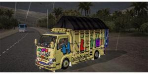 MOD Bussid Truck Full Anim Terbaru