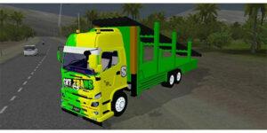 MOD Bussid Truck Hino Muatan Besi