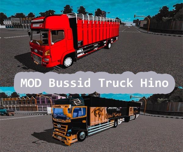 MOD Bussid Truck Hino