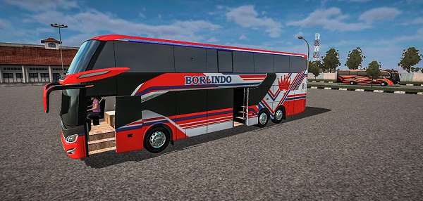 Bus Double Decker Scania