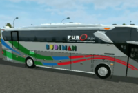 download mod bussid bus budiman full anim