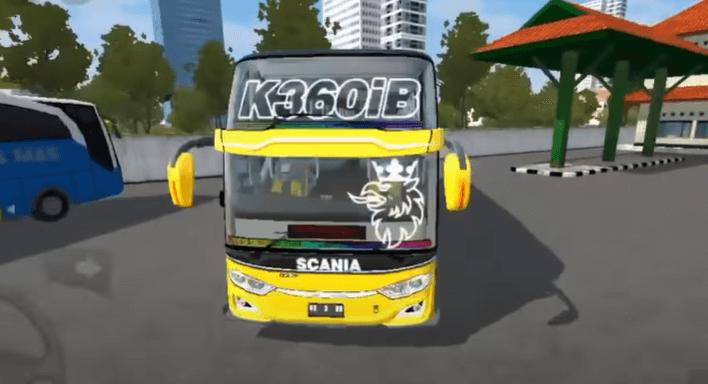 download mod bussid bus scania full strobo