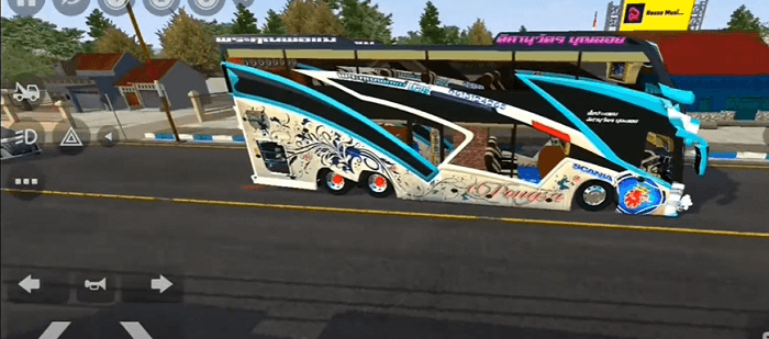 download mod bussid bus thailand full anim strobo