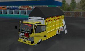 download mod bussid truck budak rawit full anim terbaru
