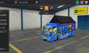 download mod bussid truck rebecca on fire HM Cabe