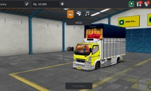 download mod truck canter standard minimalis pabrikan